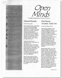 November/December 1998 Open Minds Newsletter