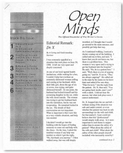 September/October 1998 Open Minds Newsletter