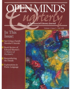 Fall 1999 issue of Open Minds Quarterly