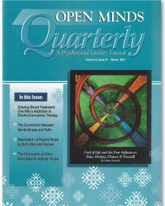 Winter 2001 Issue of Open Minds Quarterly