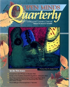 Fall 2002 Issue of Open Minds Quarterly