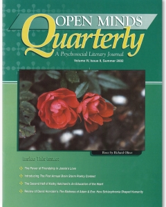 Summer 2002 issue of Open Minds Quarterly