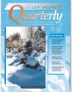 Winter 2002 issue of Open Minds Quarterly