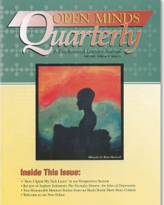 Fall 2003 Issue of Open Minds Quarterly
