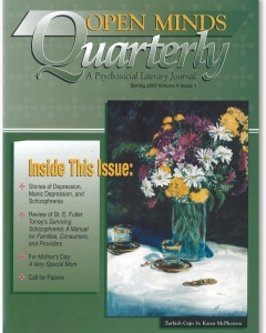 The Spring 2003 Issue of Open Minds Quarterly