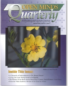 The Summer 2003 Issue of Open Minds Quarterly