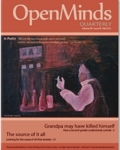 Fall 2010 Issue of Open Minds Quarterly