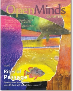 The Spring 2012 issue of Open Minds Quarterly