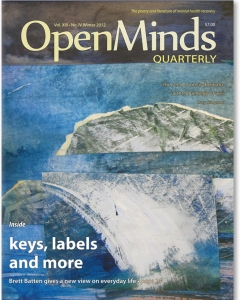 The Winter 2012 issue of Open Minds Quarterly