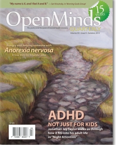 Summer 2013 issue of Open Minds Quarterly