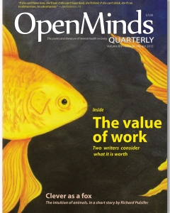 Winter 2013 issue of Open Minds Quarterly