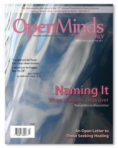 Fall 2015 issue of Open Minds Quarterly