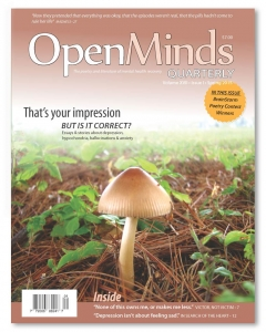 Spring 2015 issue of Open Minds Quarterly