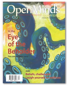 Winter 2015 issue of Open Minds Quarterly