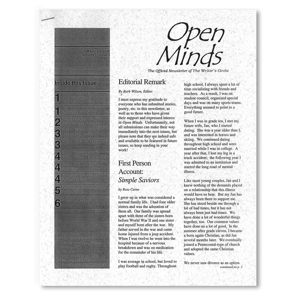 May/June OMQ 1998 Newsletter