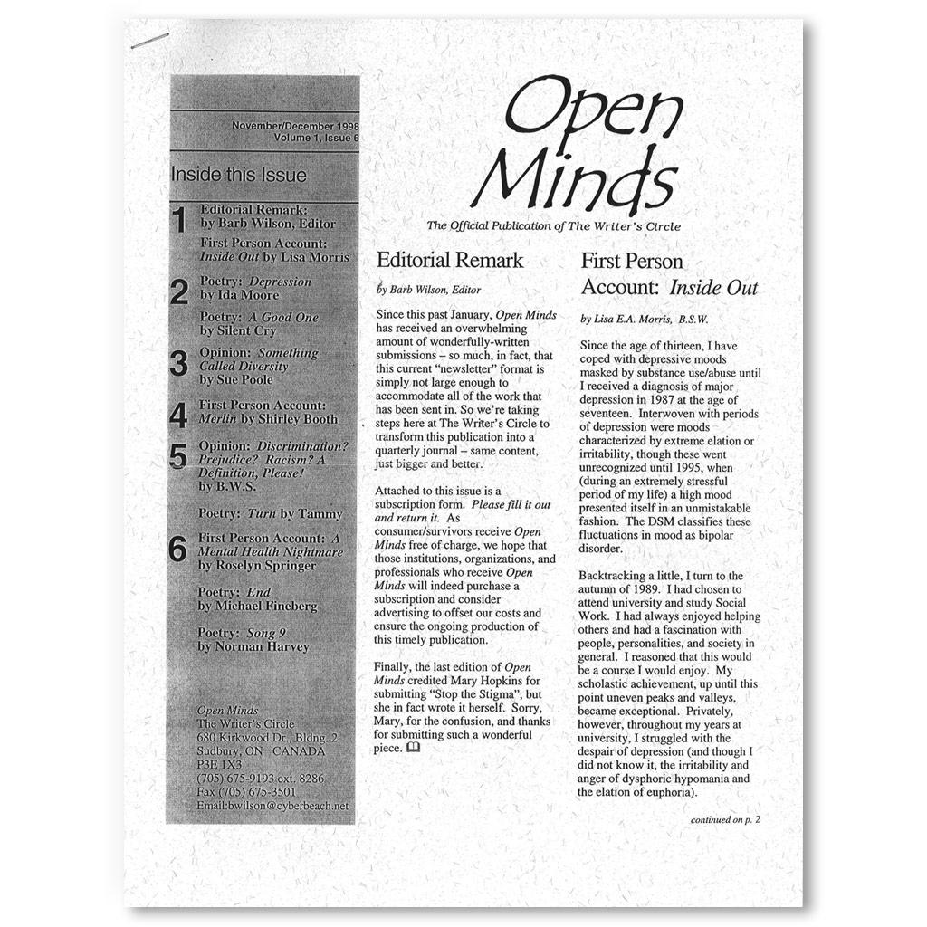1998 November/December Newsletter OMQ
