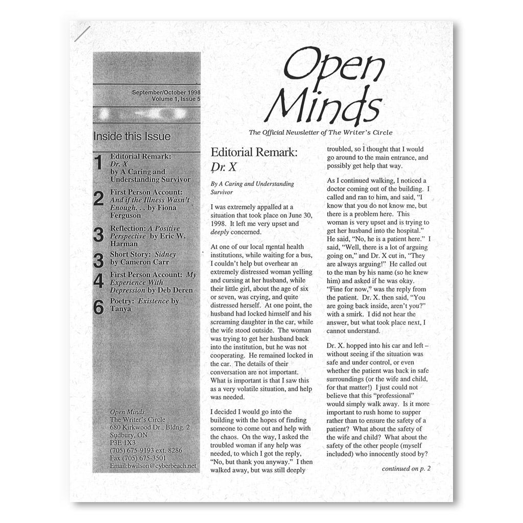 September/October 1998 OMQ Newsletter