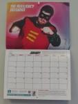 2016 NISA Superhero Calendar (1)